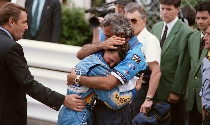 Michael Schumacher, aici în 1994 (Foto: AFP/Christophe Simon)