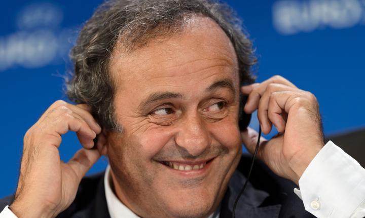 Michel Platini, fost jucàtor si selectioner al echipei Frantei, candideazà la presedintia FIFA