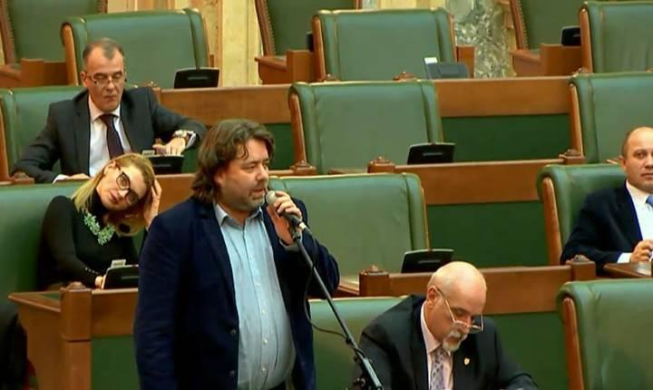 Mihai Goțiu speră în succesul unei moțiuni de cenzură (Sursa foto: Facebook/Mihai Goțiu)