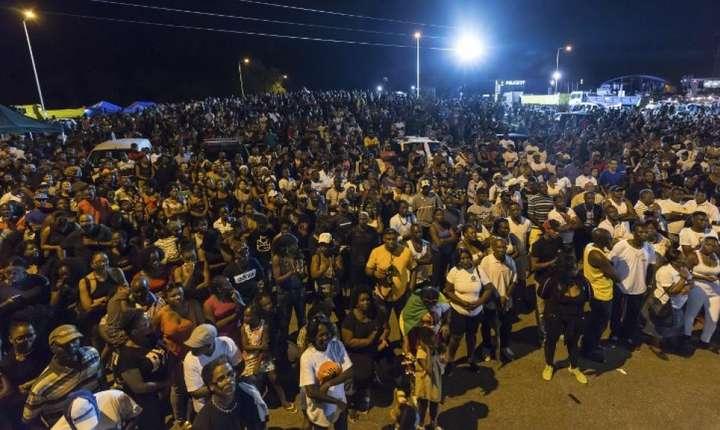 Mii de cetateni protesteaza in strada in Guyana Franceza