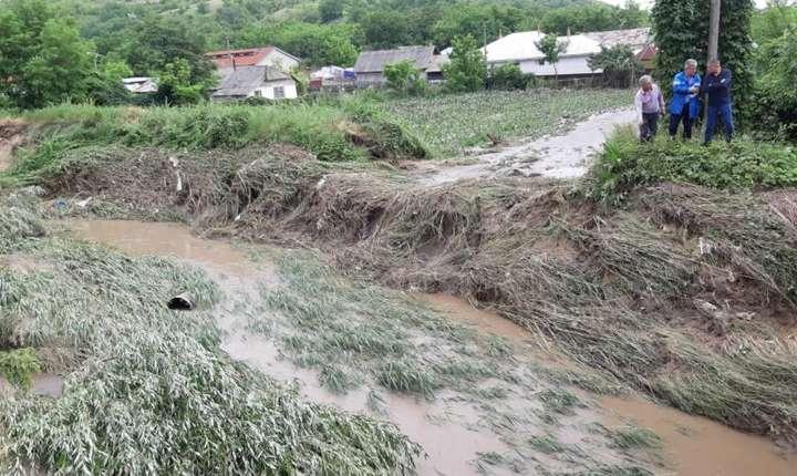 Inundații, în mai multe zone ale țării (Sursa foto: site Ministerul Apelor și Pădurilor)