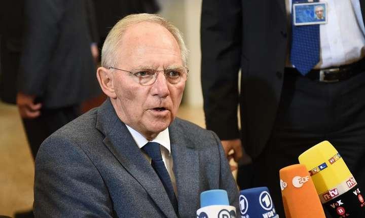 Ministrul german al Finantelor, Wolgang Schauble