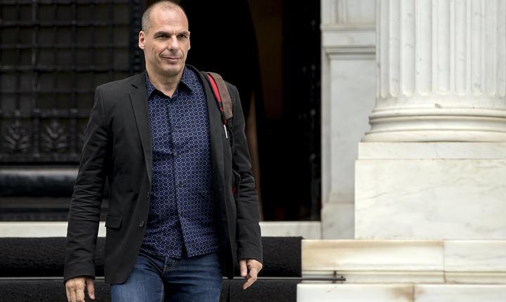 Ministrul grec de Finanţe, Yanis Varoufakis (Foto: Reuters/Marko Djurica)