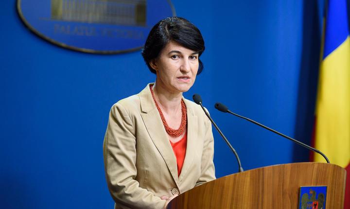 Ministrul pentru Consultare Publică şi Dialog Civic, Violeta Alexandru (Sursa foto: www.dialogcivic.gov.ro)