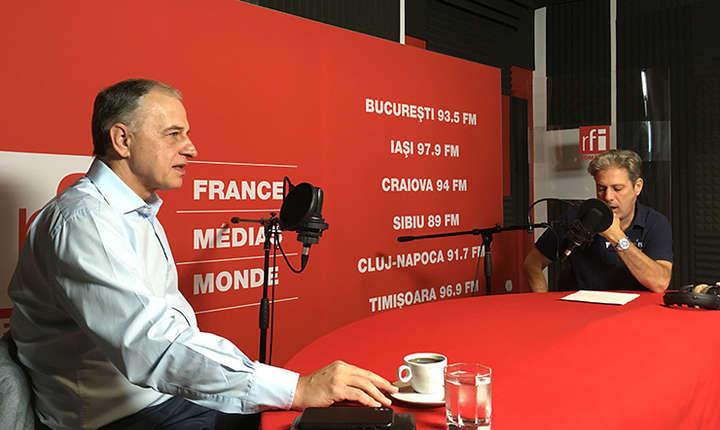 Mircea Geoană et Nicolas Don