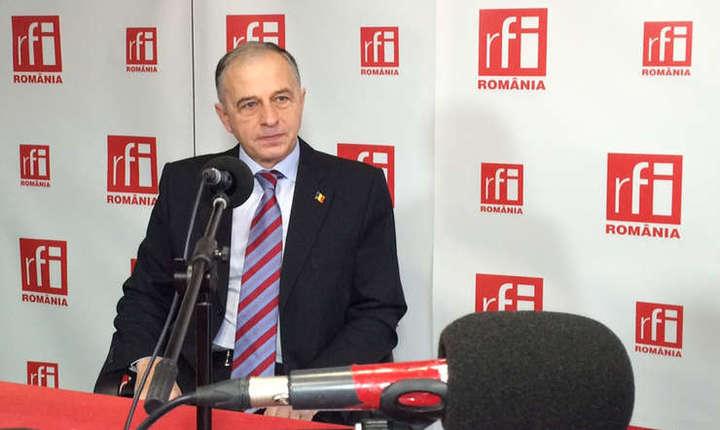 Mircea Geoană: Emmanuel Macron este un proeuropean convins, mult mai puţin permeabil la influenţele Rusiei (Foto: RFI/arhivă)