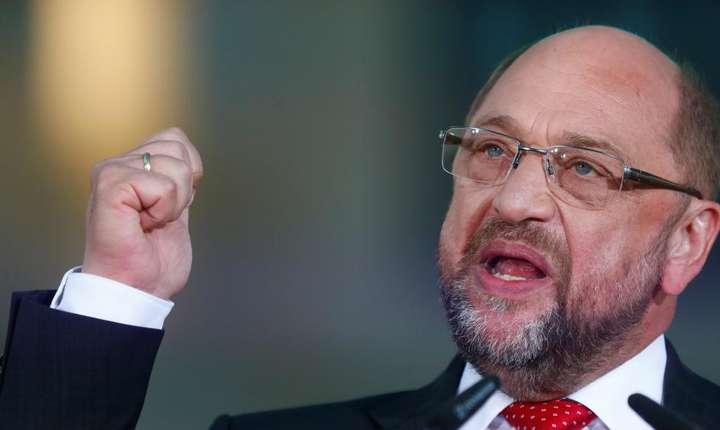 Candidatul socialist la alegerile din Germania, Martin Schulz (Foto: Reuters/Hannibal Hanschke)