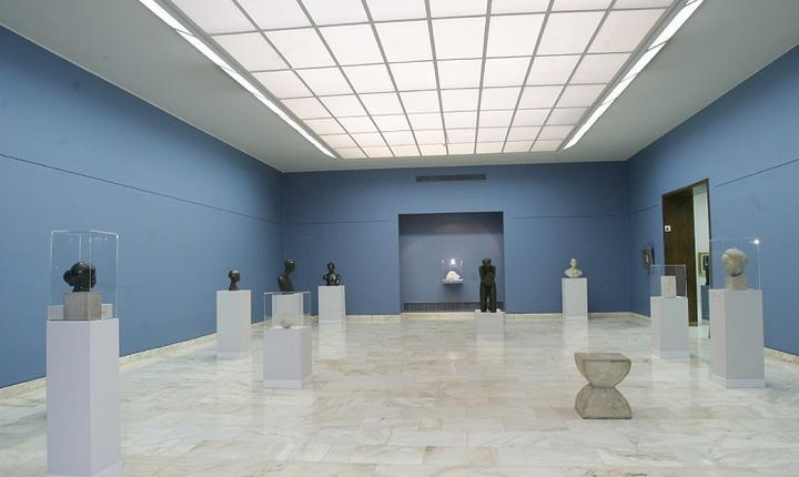 Muzeul Național de Artă al României, Sala Brâncuși