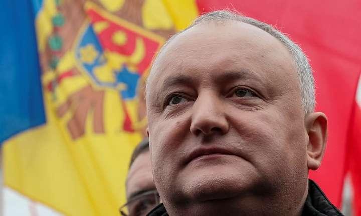 Preşedintele Igor Dodon suspendat din funcţie de Curtea Constituţională din Republica Moldova pe 9 iunie 2019.