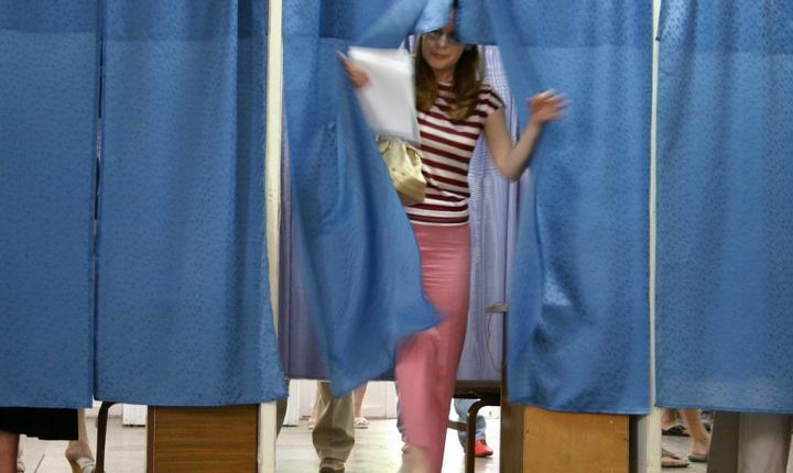 Rata de participare a fost mai mică în comparaţie cu alegerile locale din iunie 2011