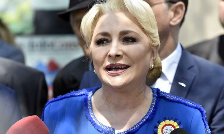 Viorica Dăncilă, aici într-o vizită în Dâmbovița (Sursa foto: gov.ro)