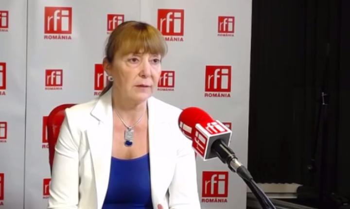Monica Macovei critică pachetul de modificare a legilor justiţiei (Foto: arhivă RFI)
