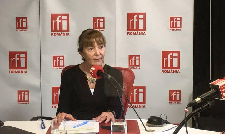 Monica Macovei îi sugerează şefei DNA să-şi păstreze calmul (Foto: RFI)