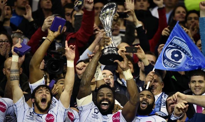 Jucătorii lui Montpellier sărbătoresc victoria