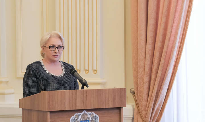Viorica Dăncilă, ironii la adresa Opoziției (Sursa foto: gov.ro)
