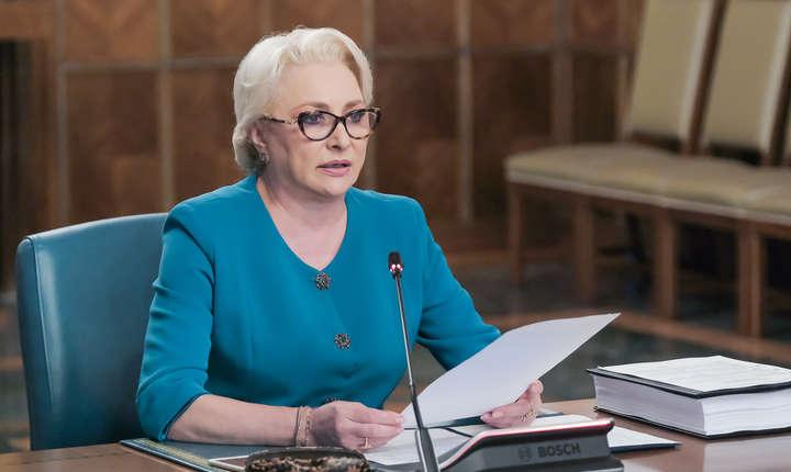 Rămâne Viorica Dăncilă premier, după moțiunea de cenzură? (Sursa foto: gov.ro)