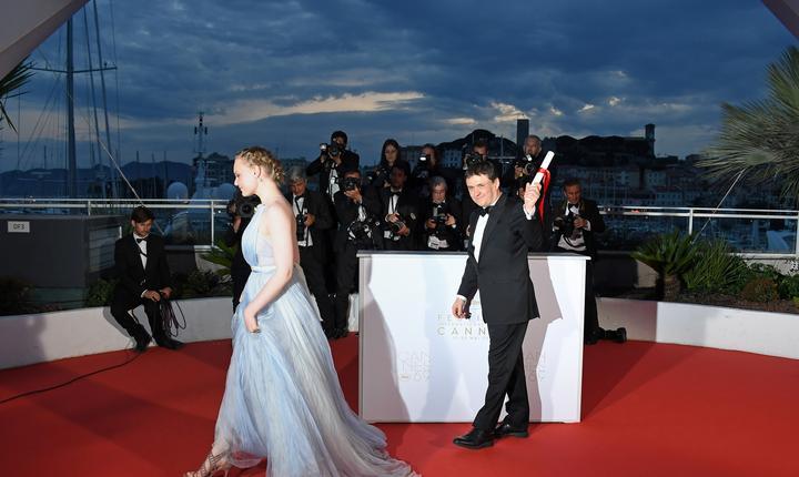 Regizorul român Cristian Mungiu la Cannes în 2013 în calitate de membru al juriului