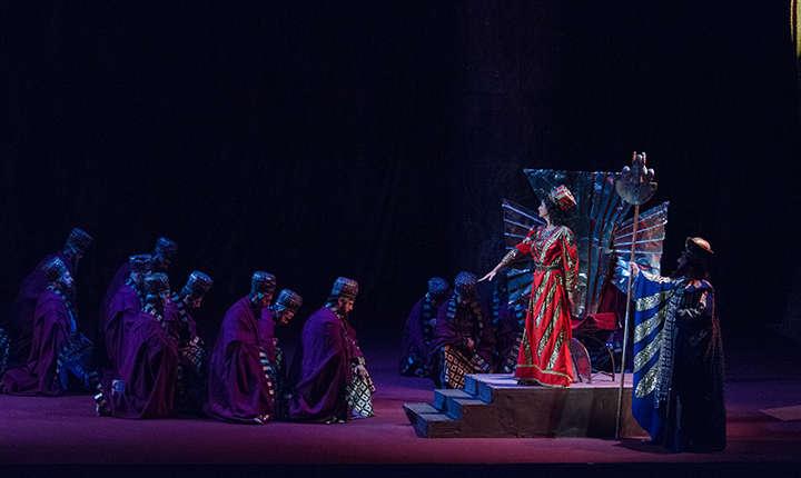 Cadru din sepctacolul Nabucco