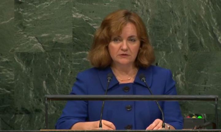 Natalia Gherman este candidatà la postul de secretar general ONU