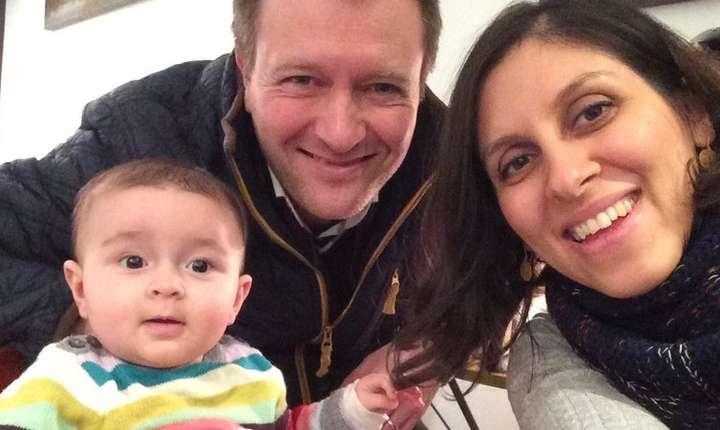 Nazanin Zaghari-Ratcliffe și familia ei
