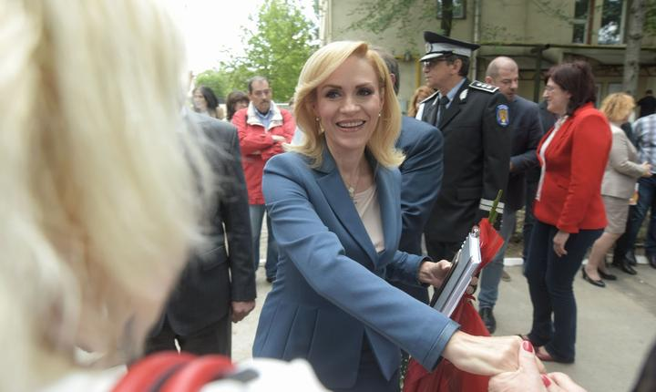 Primarul ales al Capitalei, Gabriela Firea (Foto: gabriela-firea.ro)