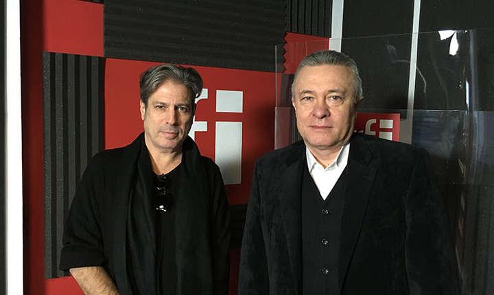 Nicolas Don și Cristian Diaconescu la RFI