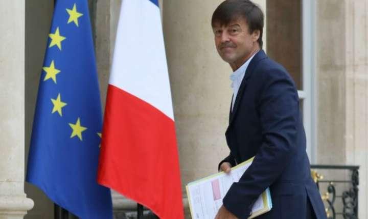 Ministrul ecologiei, Nicolas Hulot