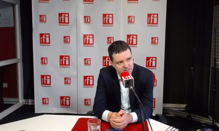 Liderul USR, Nicuşor Dan, în studioul RFI, 21 martie 2017