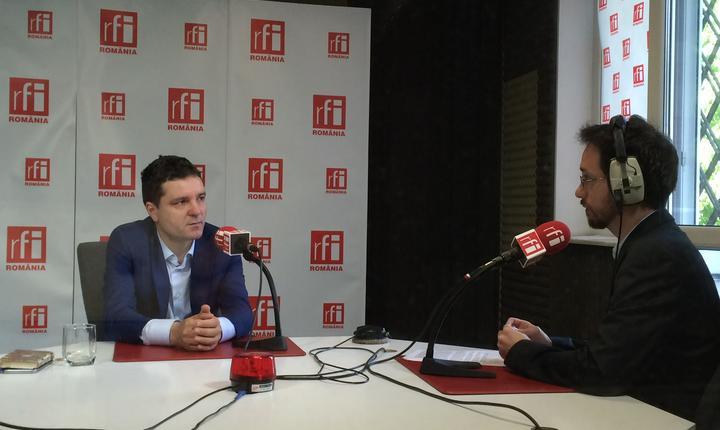 Liderul USR, Nicuşor Dan, în studioul RFI (arhivă)