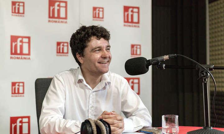 Nicuşor Dan, în studioul RFI (arhivă)