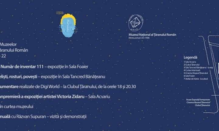 Afiș Noaptea Europeană a Muzeelor la MȚR