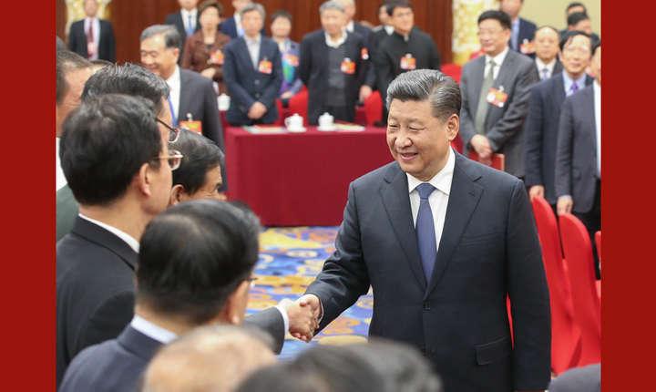 Xi Jinping, schimbare de imagine (Sursa foto: news.cn)