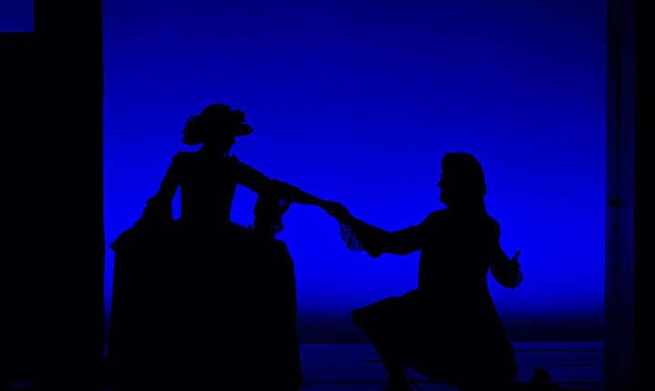 """Cadru din spectacolul """"Nunta lui Figaro"""""""