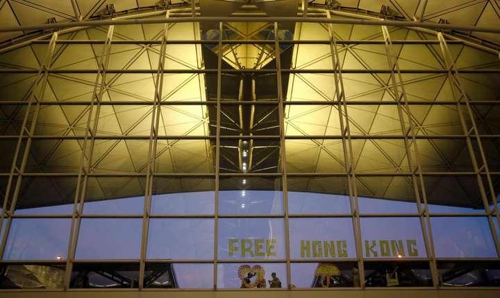 O noua actiune este organizata vineri, 9 august 2019, la aeroportul din Hong Kong.
