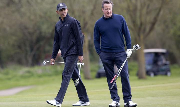 Barack Obama și David Cameron