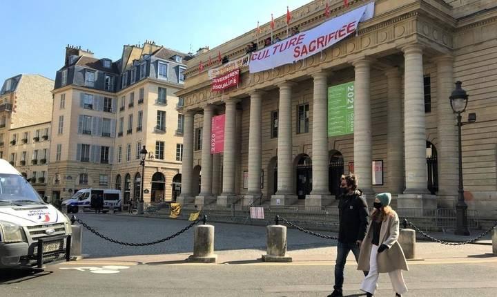 Teatrul Odéon de la Paris, martie 2021.