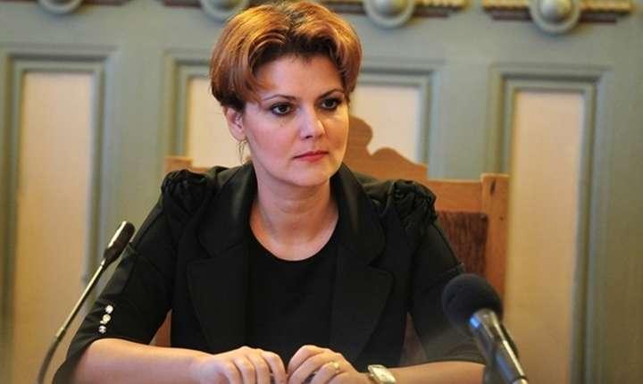 Olguta Vasilescu: Legea salarizarii va intra in vigoare la 1 iulie desi proiectul nu a ajuns la Parlament