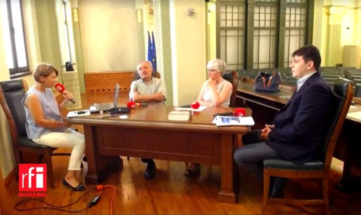 Mihaela Dedeoglu si invitatii sai la Oameni si case Timisoara