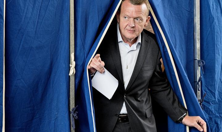 Liderul Opoziţiei daneze, Lars Løkke Rasmussen (Foto: Reuters/Nils Meilvang)