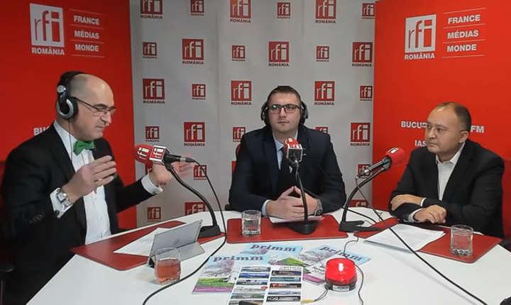 Sergiu COSTACHE, Mădălin ROŞU și Liviu CHIRIC