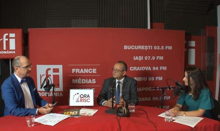 Sergiu COSTACHE, Costin TĂTUC și Oana RADU la radio