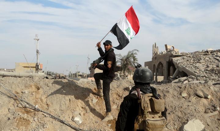 Soldat irakian, la Ramadi (Foto: Reuters)