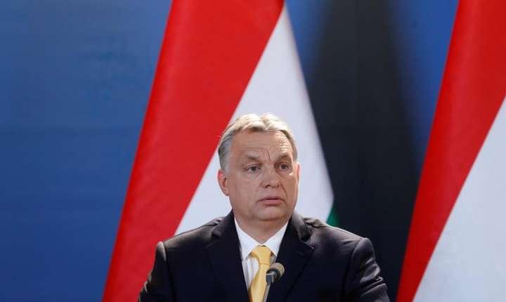 Viktor Orban, premierul Ungariei, unul din promotorii iliberalismului, la o conferintà de presà pe 10 aprilie 2018