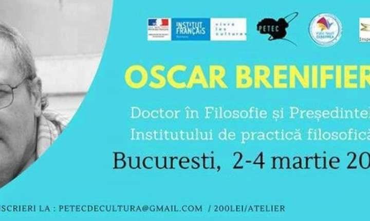 Oscar Brenifier, București 2018