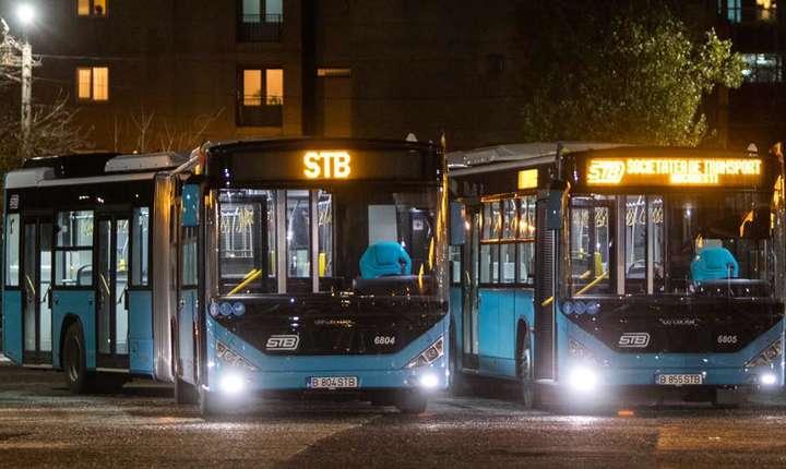 Autobuze noi în București începând din 1 decembrie.