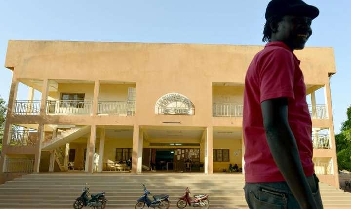 Universitatea din Ouagadougou (Burkina Faso) unde presedintele Frantei, Emmanuel Macron, va sustine un important discurs