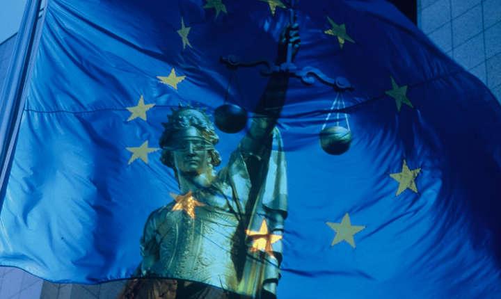Justitie UE simbolic