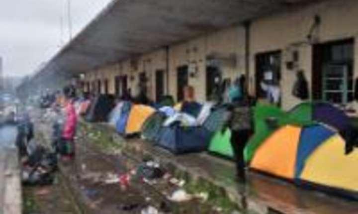 Tabara de refugiati de la Idomeni