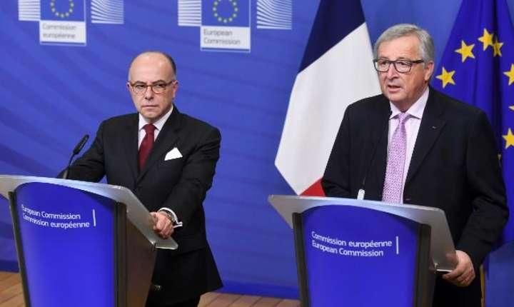 Juncker Cazeneuve feb 2017