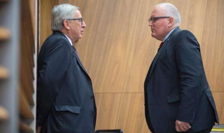 Juncker si Timmermans